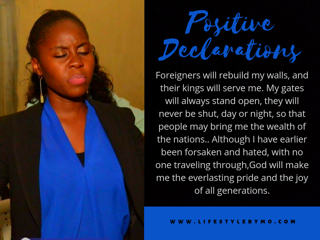 Powerful Daily Declarations For Your Life and Finances